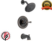 Shower Faucet 3-spray Tub Single-handle Porter Oil Rubbed Bronzevalve Included