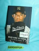 The Closer My Story By Mariano Rivera 2014 Hardcover Signed Autographed Fe