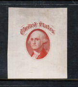 Usa 79-e36a Very Fine With Gothic United States Above On White Glazed Paper