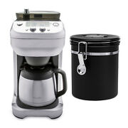 Breville Bdc650bss The Grind Control Coffee Grinder With Coffee Canister