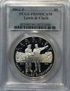 Lewis And Clark - Modern Commemorative Proof Silver Dollar - 2004 - Pcgs Pf69dcam