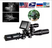 Infrared Night Vision System Rifle Scope Sight 850nm Led Ir Camera W Batteries
