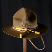 Hat Of Cavalry Officer Us Army Stetson Campaign Hat Pre Ww1