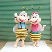 Bee Hornet Mascot Costume Suits Adults Honeybee Animal Cosplay Party Game Fancy