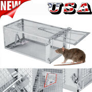 Rodent Animal Mouse Humane Live Trap Hamster Cage Mice Rat Control Catch Bait Us