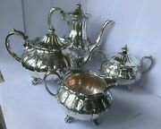 Silver Plated Tea/coffee Set Made By Cooper Brothers And Sons Ltd