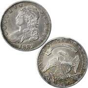 1832 Capped Bust Half Dollar Au About Uncirculated 89.24 Silver 50c Us Coin
