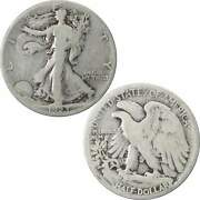 1923 S Liberty Walking Half Dollar Ag About Good 90 Silver 50c Us Coin