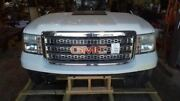 Front Clip Fits 12-14 Sierra 2500 Pickup Chrome Center Grille Opt Vpz 7811490