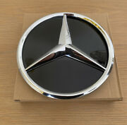 Mercedes Silver Front Grill Badge Replacement Star For Facelift W177 W205 2018+