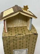 Enesco Heart Of Christmas Mouse Mice Nativity Crèche Mint In Box