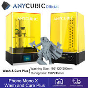 Anycubic Lcd Sla 3d Printer High Speed Photon Mono X + Wash And Cure Plus Kit Us