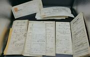 Land Deed And Check Lot Stamps Licking County Oh 1850 1880 Historical Documents