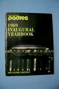 1969 San Diego Padres Yearbook First Year Excellent Condition
