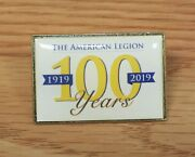 The American Legion 1919-2019 100 Years Collectible Enamel Pin Lapel