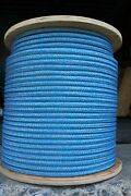 Novatech Argus Double Braid Spectra Sheet Halyard Line 3/8 X 100and039 Blue/silver