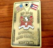 130en Puerto Rico National Guard Challenge Coin Operation Iraqi Freedom 2006 -8