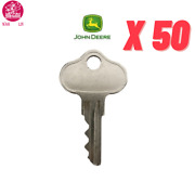 Pack Of 50 - Ignition Starter Key For John Deere Lawn Mower Gator- Wah Lin Parts