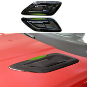For Range Rover Sport 2014-2020 Glossy Black Car Machine Cover Air Outlet Cover