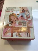 Singer Vintage Touch And Sew Accessories 758 Box Damaged Zig Zag