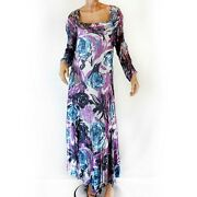 Komarov Woman Nordstrom Plus Size Lace Floral Stretch Pleated Dress 1x