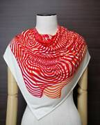 Hermes Wave Of Sophistication/onde De Chic Carre 90 Scarf Silk 100
