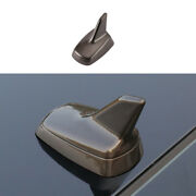 Fit For Mazda 3 Axela 2020-2021 Brown Car Roof Shark Fin Antenna Aerial Trim 1pc