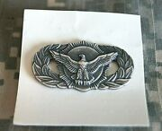 Authentic New Us Air Force Security Police Basic Badge Insignia Pin
