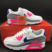 Nike Air Max 90 Iii And039concord Pinkand039 Retro Ct1887-100 Womenand039s Multi Size New
