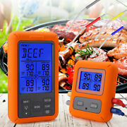Remote Cooking Thermometer Digital Bbq Grill Oven Meat Wireless And Timer