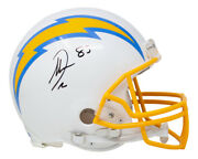 Antonio Gates Signed L.a. Chargers Full Size Authentic Helmet Bas Itp
