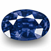Grs Certified Sri Lanka Blue Sapphire 1.11 Cts Natural Untreated Royal Blue Oval