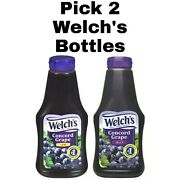 Pick 2 Welchand039s Concord Grape Jam Or Jelly 20 Oz Squeeze Bottles