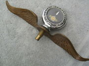 1920and039s Senior Moto-meter And Hood Ornament