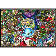 Tenyo Disney Alice In Wonderland Glass Puzzle 1,000 Free Global Shipping