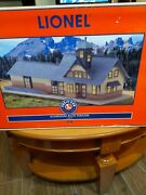 Lionel Very Rare Aluminum Tinplate Rico Station From 2000 , 6-32997 , New In Box