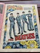 Rare Marvel Comic 1978 Beatles Story Of How Group Formed