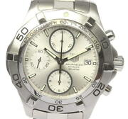 Tag Heuer Aquaracer Date Chronograph Caf2111 Self-winding Mens Secondhand