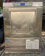 Hobart Lxeh Commercial Undercounter Sanitizing Dishwasher W/ Chemical Pumps