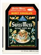 1973 Wacky Packages Series 5 Swiss Mess Tan Back