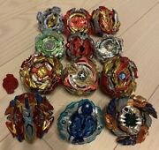 Beyblade Huge Lot Set Launcher X4 Bey Blade Used Various