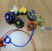 The First Beyblade Huge Lot Set Bey Blade Used Various Rare 20 Years Ago