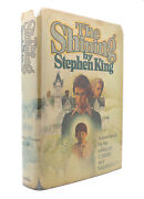 Stephen King The Shining 1st Edition First Edition Stated