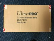 500 Ultra Pro 3 X 4 100pt Clear Toploaders Factory Sealed - 1/2 Case New