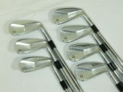 New 2020 Taylormade P770 Iron Set 4-pw Project X 5.5 Steel Irons P-770