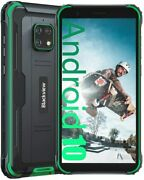 Ip68 Rugged Mobile Phone Unlocked Blackview Bv4900 Android 10 Smartphone 3g+32gb
