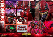 Dhl Express Hot Toys 1/6 Marvel Contest Of Champions Vgm35 Venompool Figure
