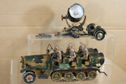 Tipp And Co German Wwii Clockwork Halftrack With British Crew And Searchlight Nk