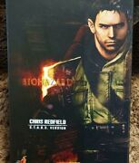 Hot Toys Chris Redfield Resident Evil Biohazard S.t.a.r.s. Version Used Japan