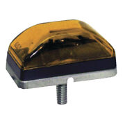Anderson Trailer E151a Sealed Clearance/side Marker Light Amber Stud